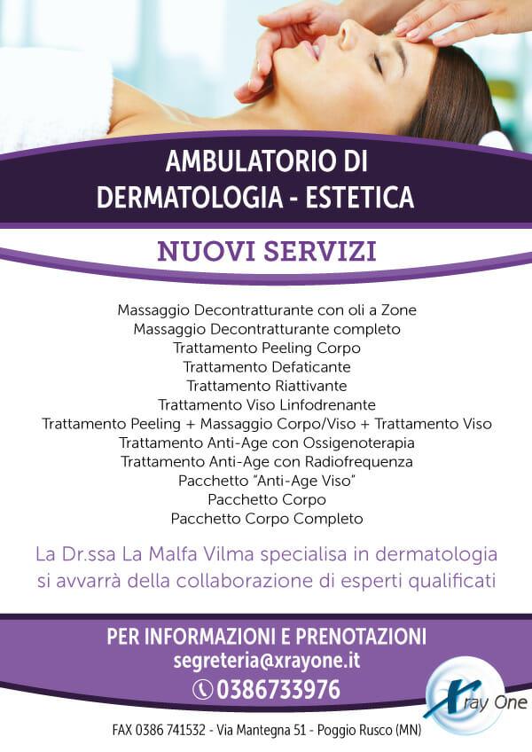 Nuovi servizi dermatologia - estetica